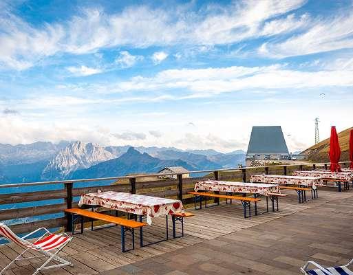Rifugio des Alpes Col Rodella