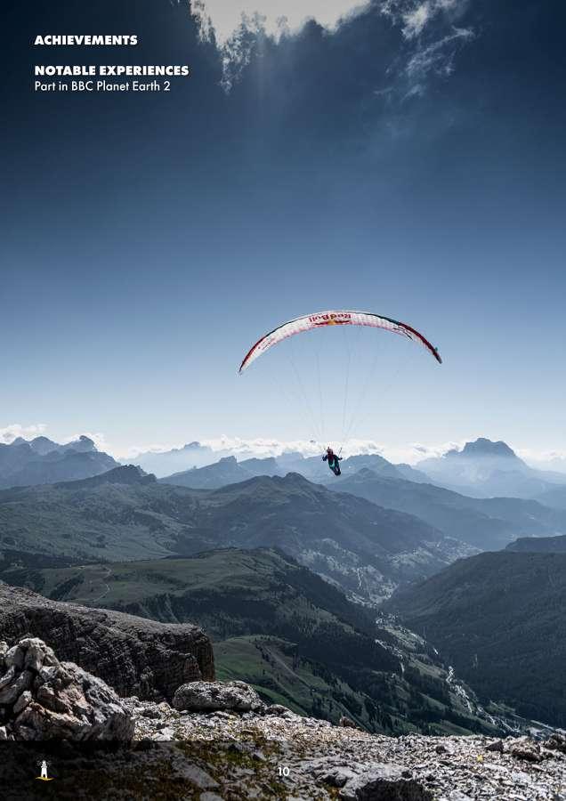 Aaron Durogati: Pilota RedBull X-Alpes 10