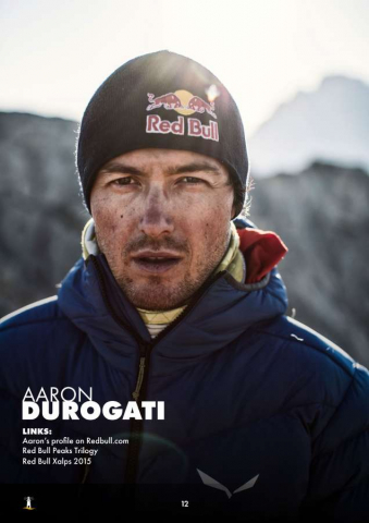 Aaron Durogati: Pilota RedBull X-Alpes 12
