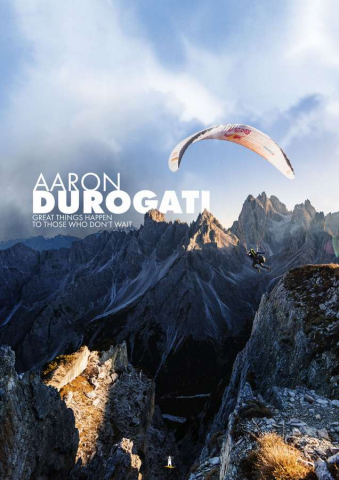 Aaron Durogati: Pilota RedBull X-Alpes 1