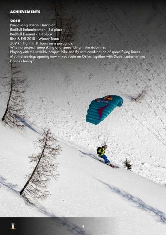 Aaron Durogati: Pilota RedBull X-Alpes 4