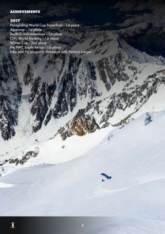 Aaron Durogati: Pilota RedBull X-Alpes 5