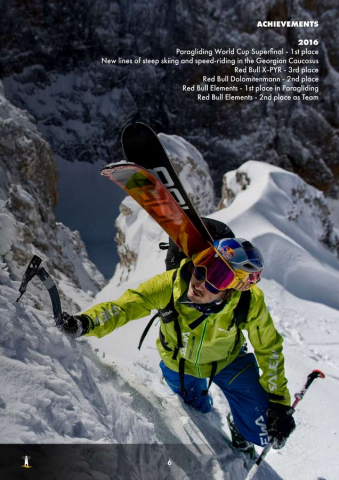 Aaron Durogati: Pilota RedBull X-Alpes 6