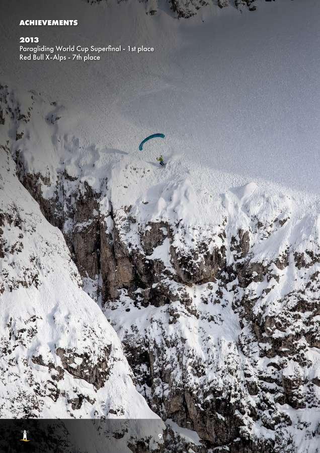 Aaron Durogati: Pilota RedBull X-Alpes 9